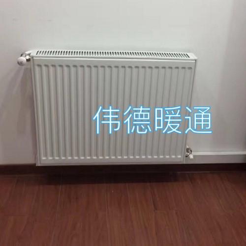 文昌花园明装暖气片工程